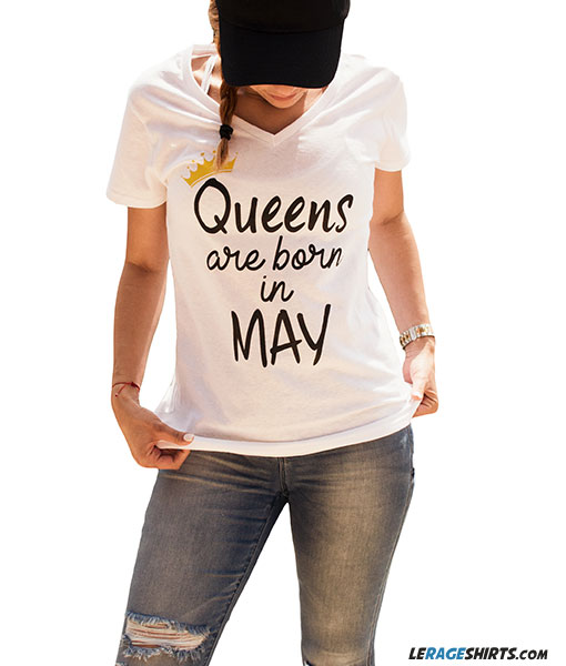 f44a3f243 Home / T-Shirts / Collections / Birthdays and Special Occasions / Queens  Are Born ...