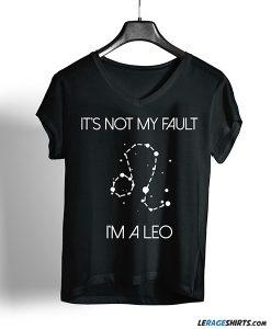 leo horoscope shirt for women