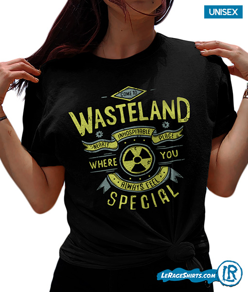 0a3d0da4cf38 Come To Wasteland Post Apocalyptic Gamer Shirt by LeRage Shirts