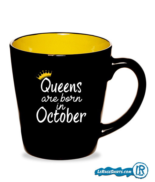 Mug Birthday with Month by LeRage Shirts