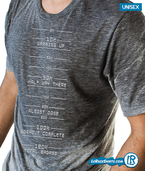 Sweat Activated Shirt From Lerage Shirt For Gym workout with Sweat meter