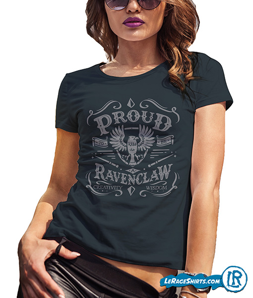 5d768b47 Proud to be a Ravenclaw. $19.95 $17.95. If you belong to the Ravenclaw  house, this Harry Potter themed Shirt ...