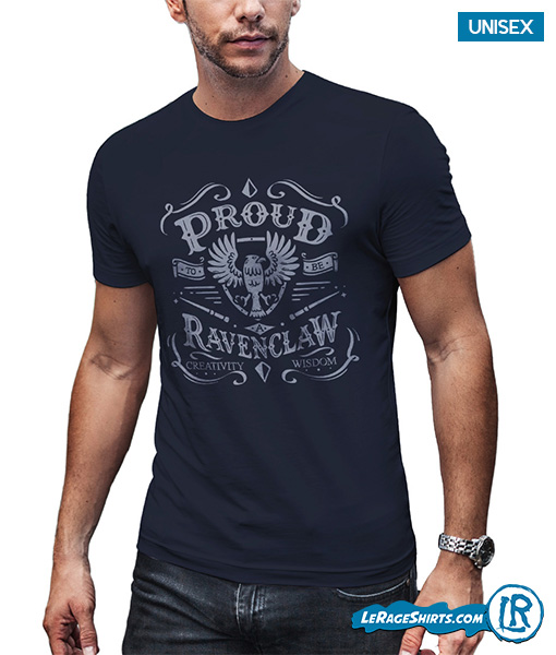 Proud to be a ravenclaw Harry Potter shirt