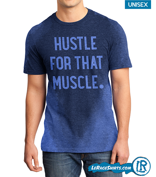 Sweat Activated Tee blue color