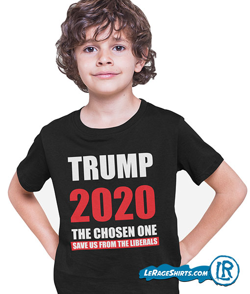 Donald Trump I am the chosen one 2020 shirt Kids