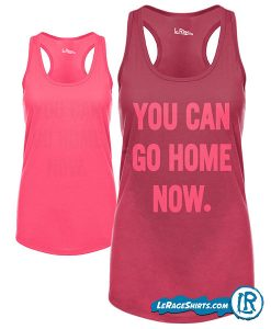 Sweat Activated Technology Tank with Hidden Motivational message Pink Color From Lerage Shirts